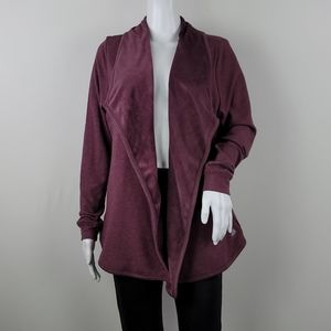 Free2B Wrapped Up Velour Lined Jacket